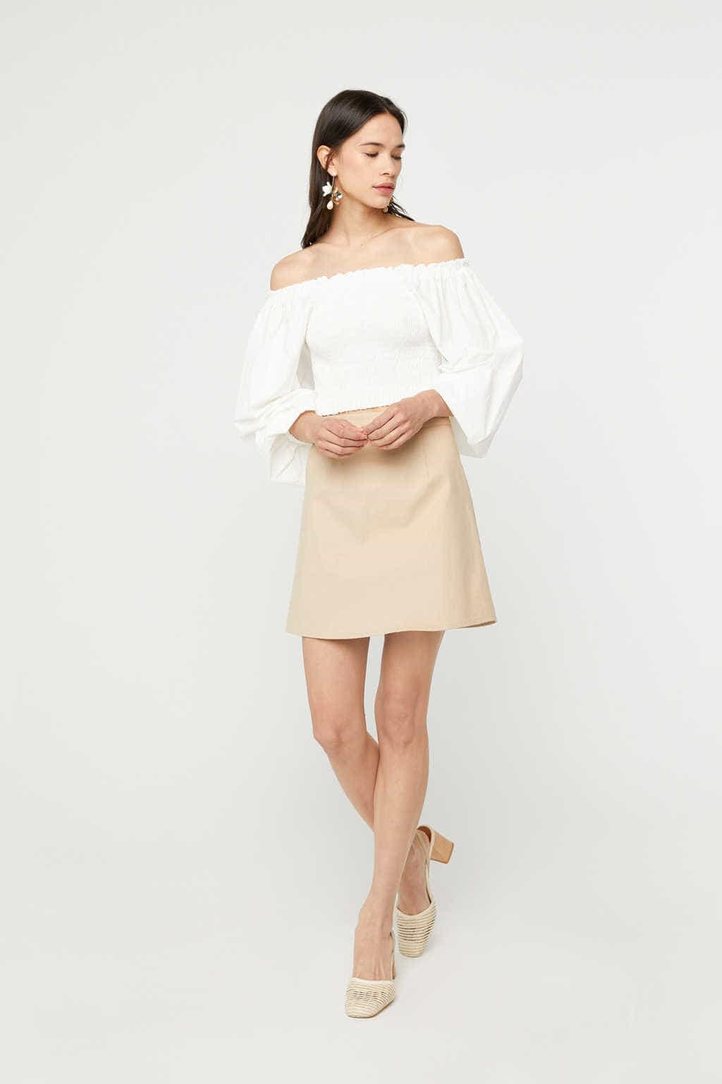 Skirt K023 Beige 1