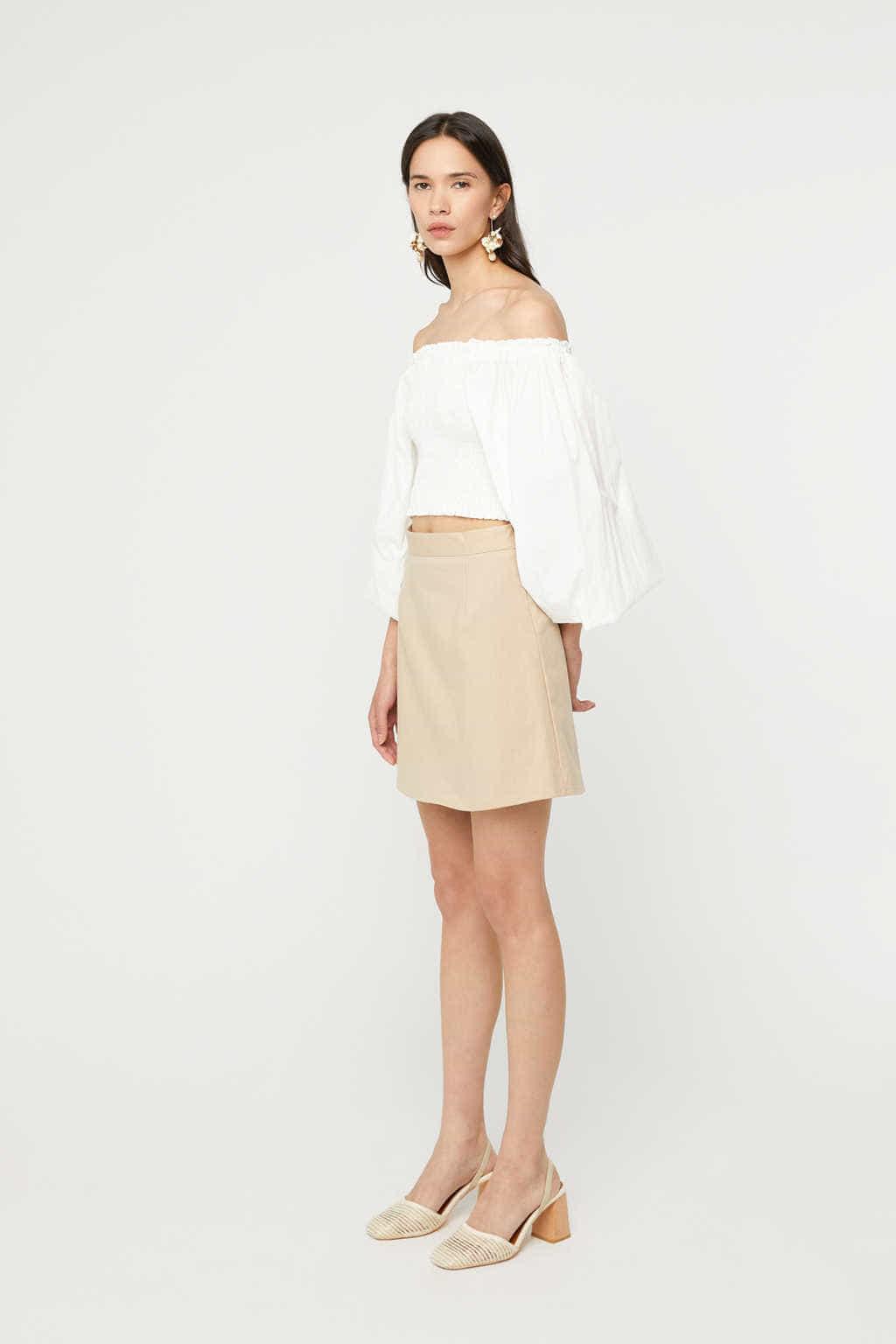 Skirt K023 Beige 2