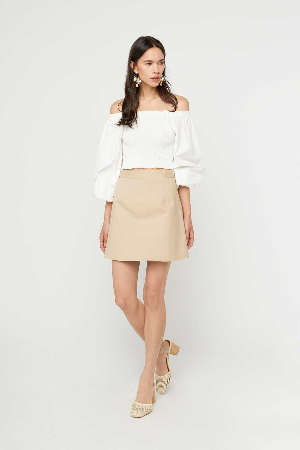 Skirt K023 Beige 3