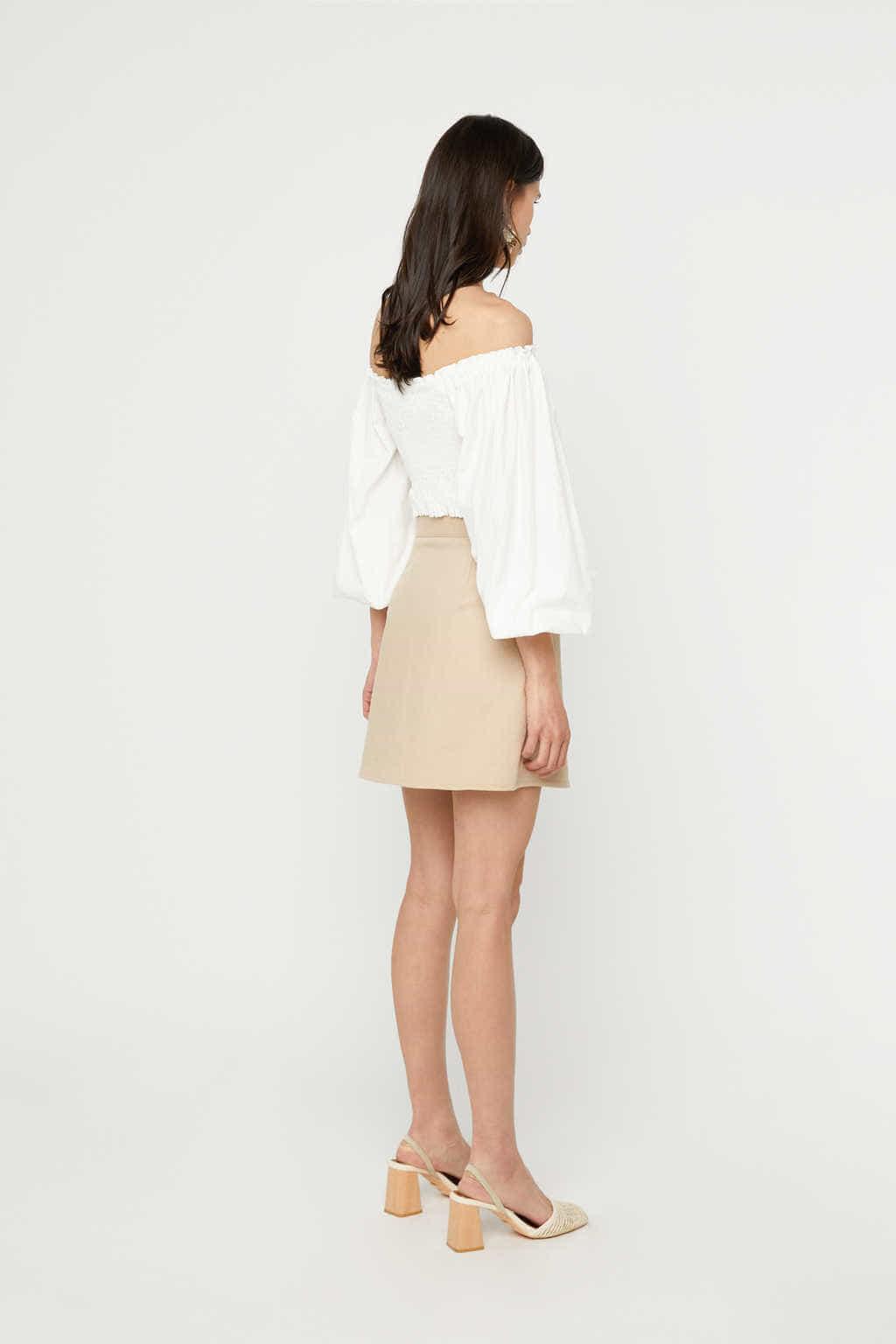 Skirt K023 Beige 4