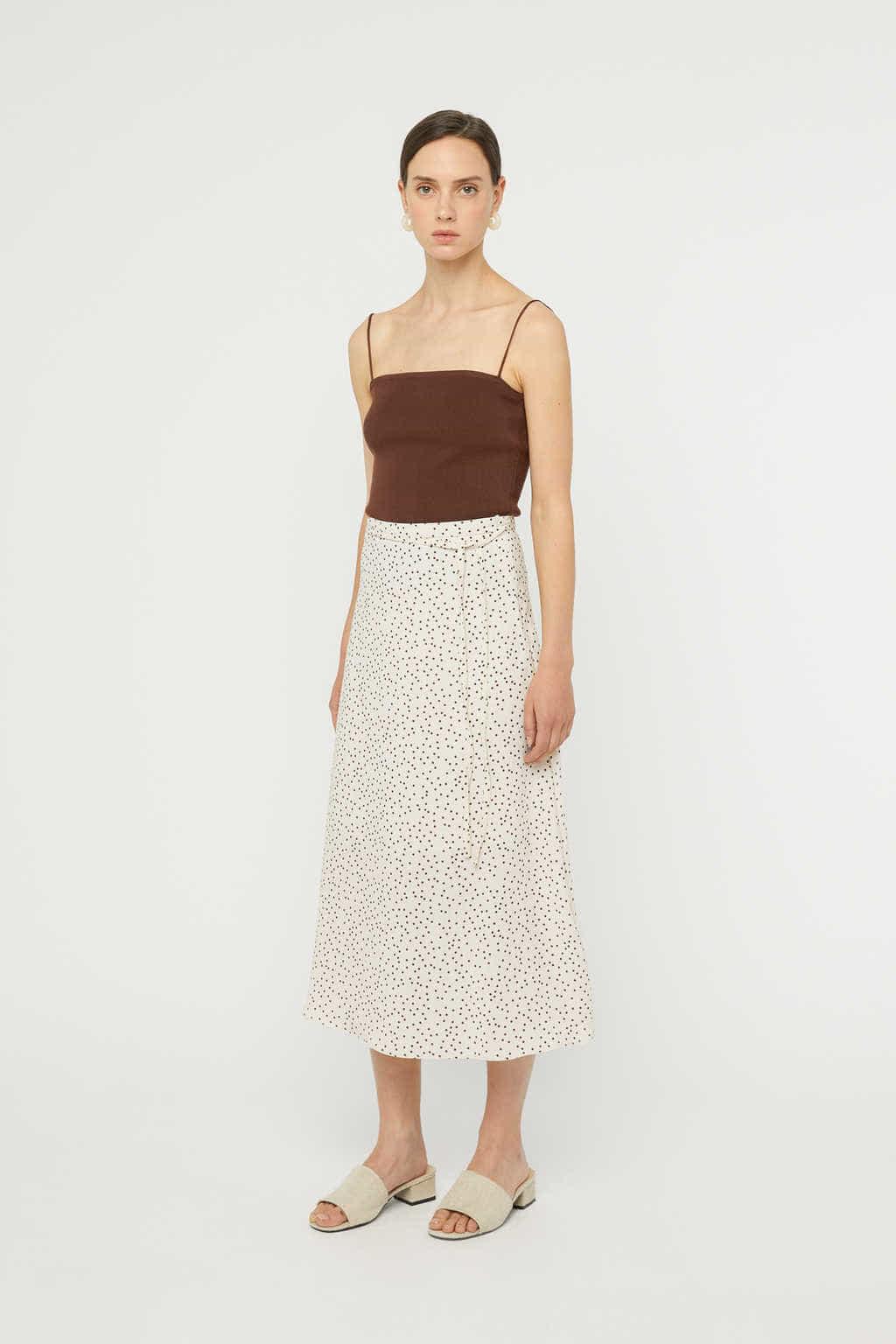 Skirt K025 Cream 2