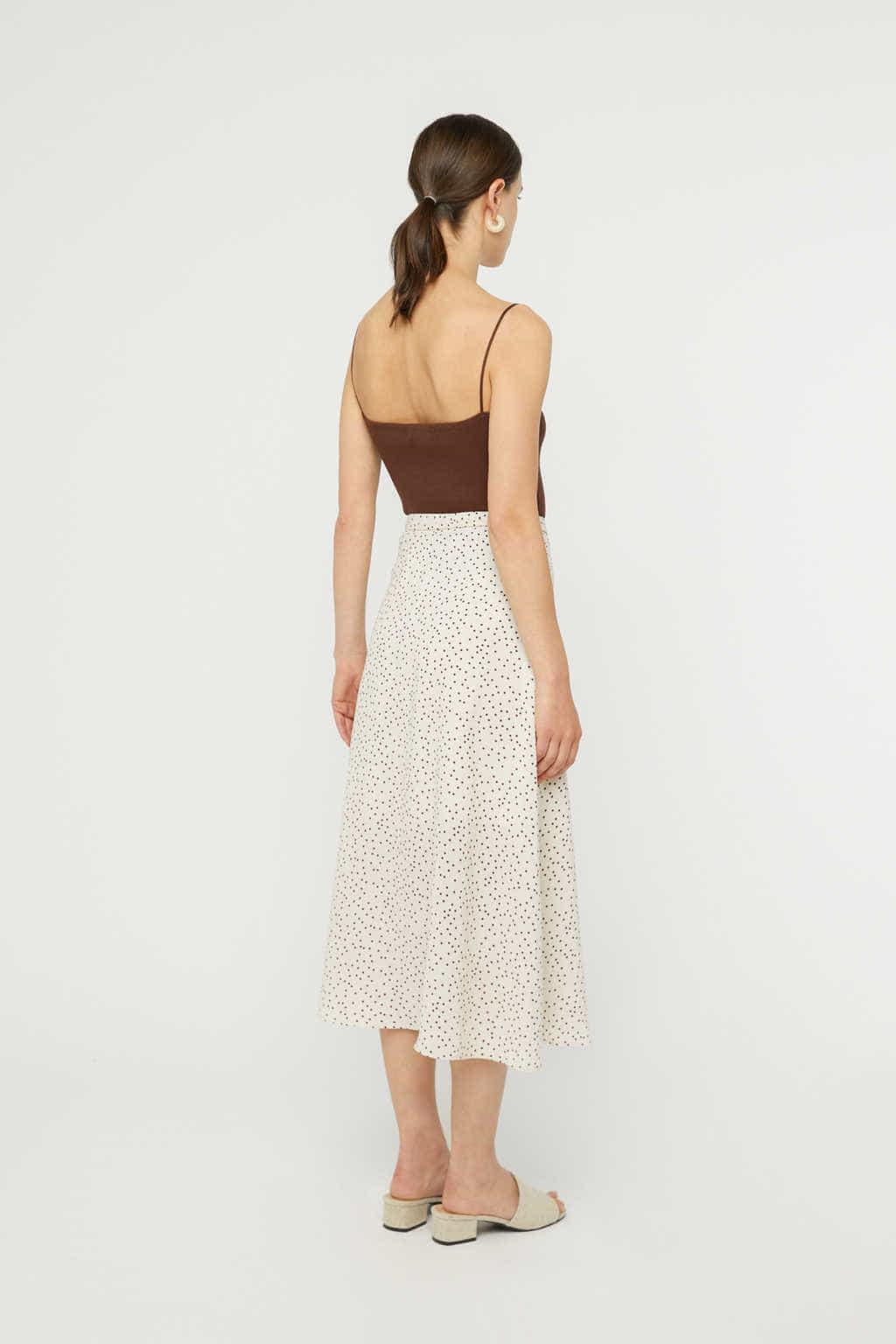 Skirt K025 Cream 4