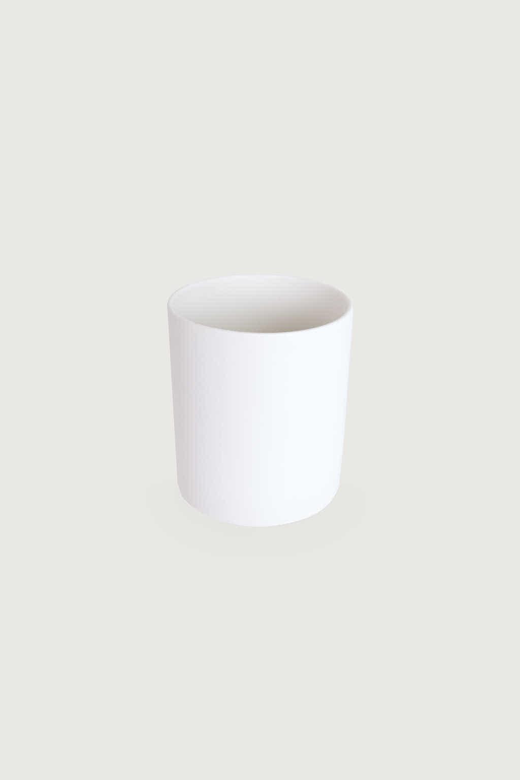 Slim Ceramic Planter 2946 White 5