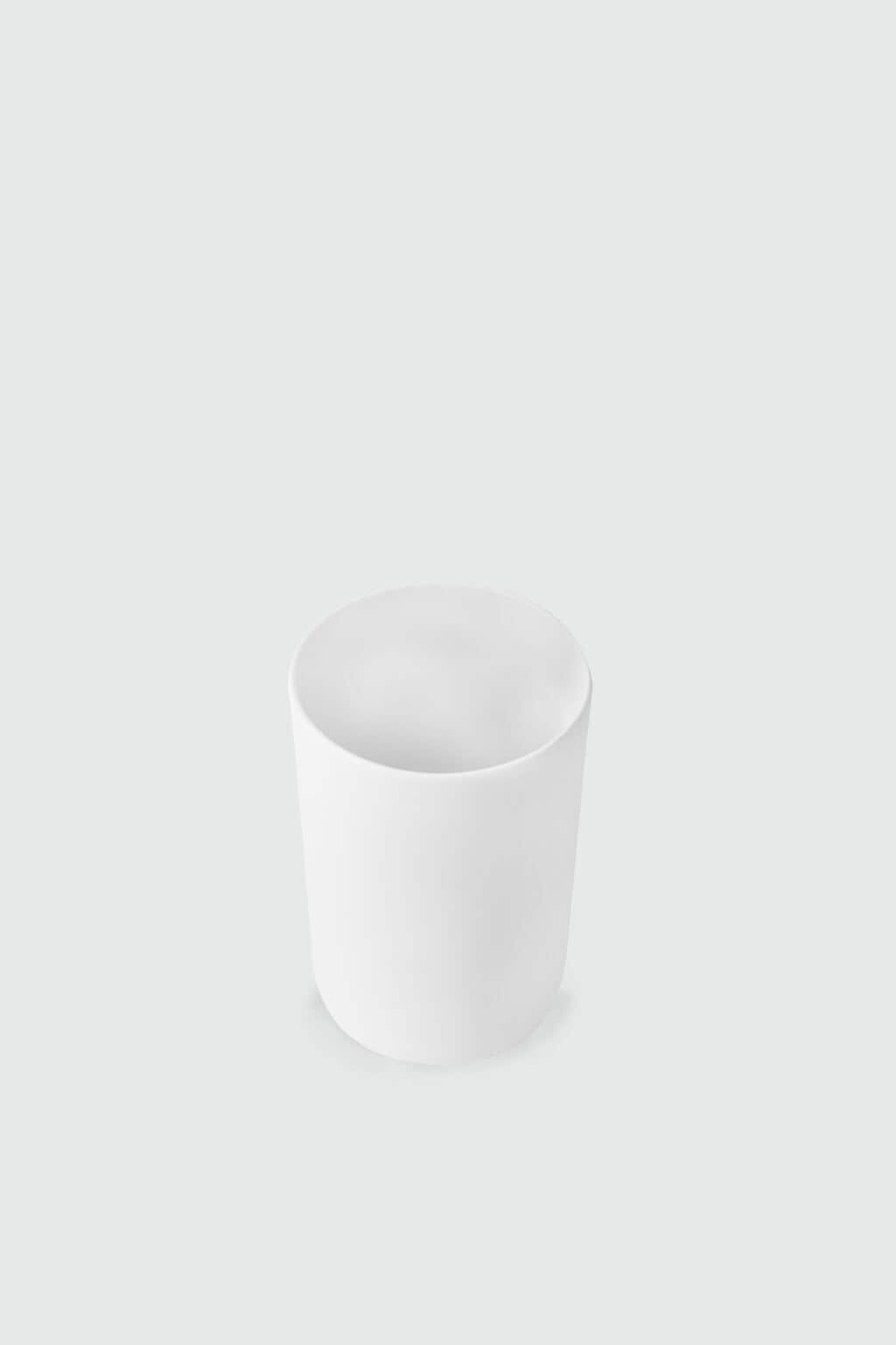 Slim Porcelain Cup 2939 White 2