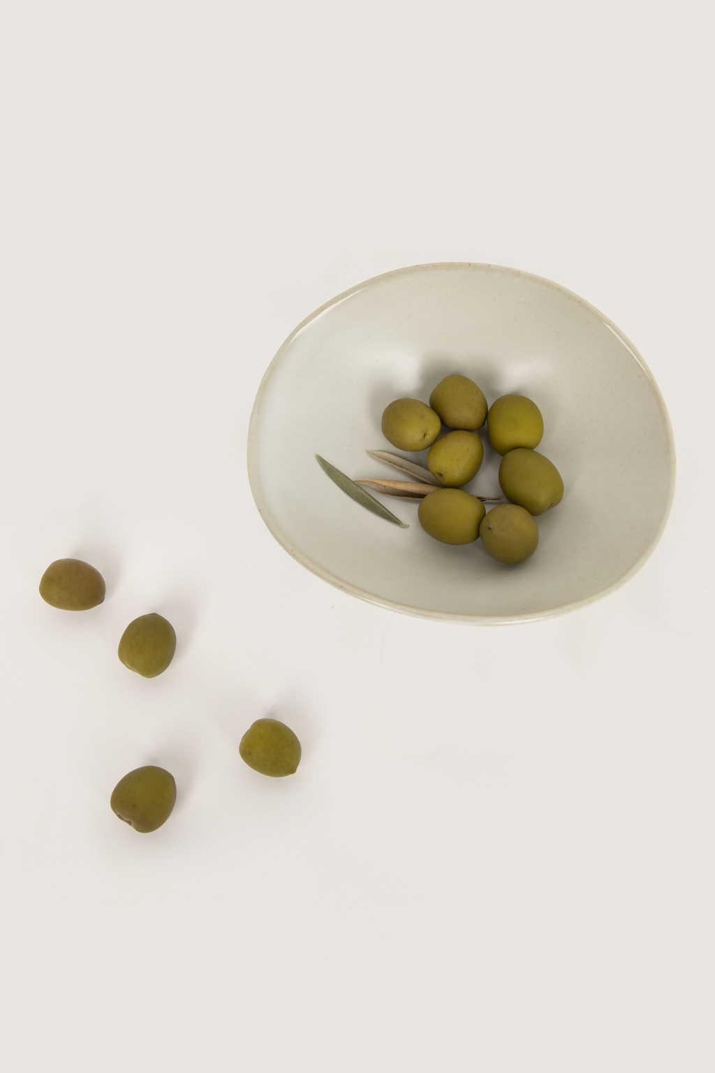 Small Ceramic Bowl 3295 Ivory 1