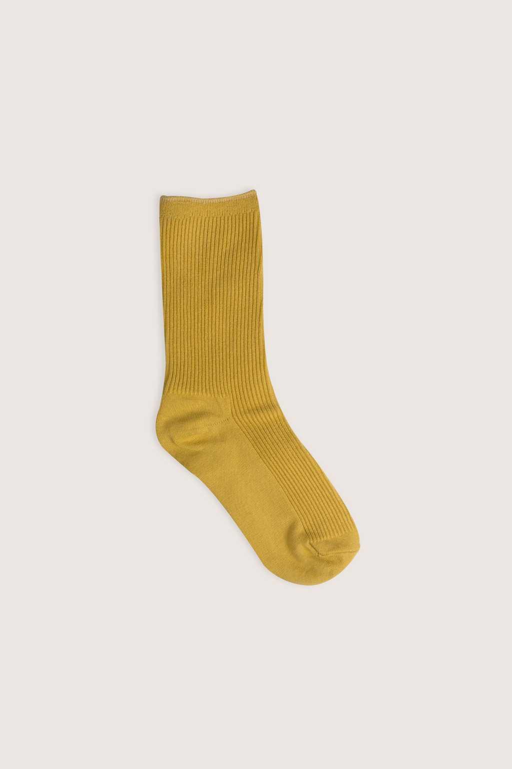 Sock H030 Yellow 4