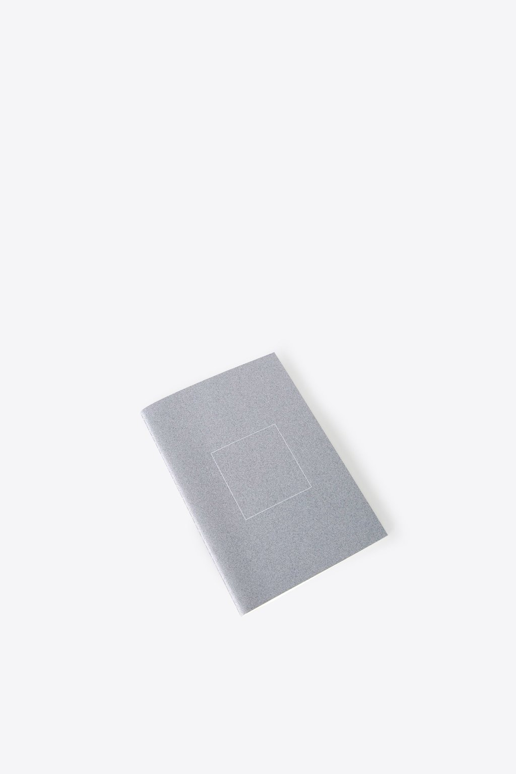 Square Print Grid Notebook 1856 Gray 2