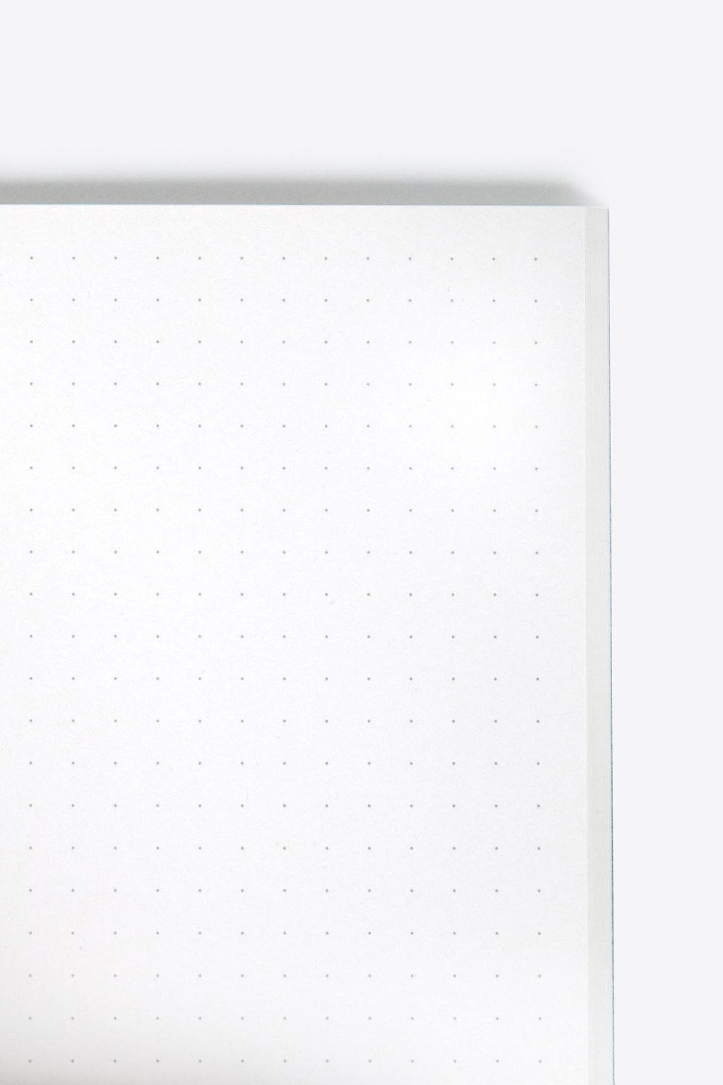Square Print Grid Notebook 1856 Gray 3