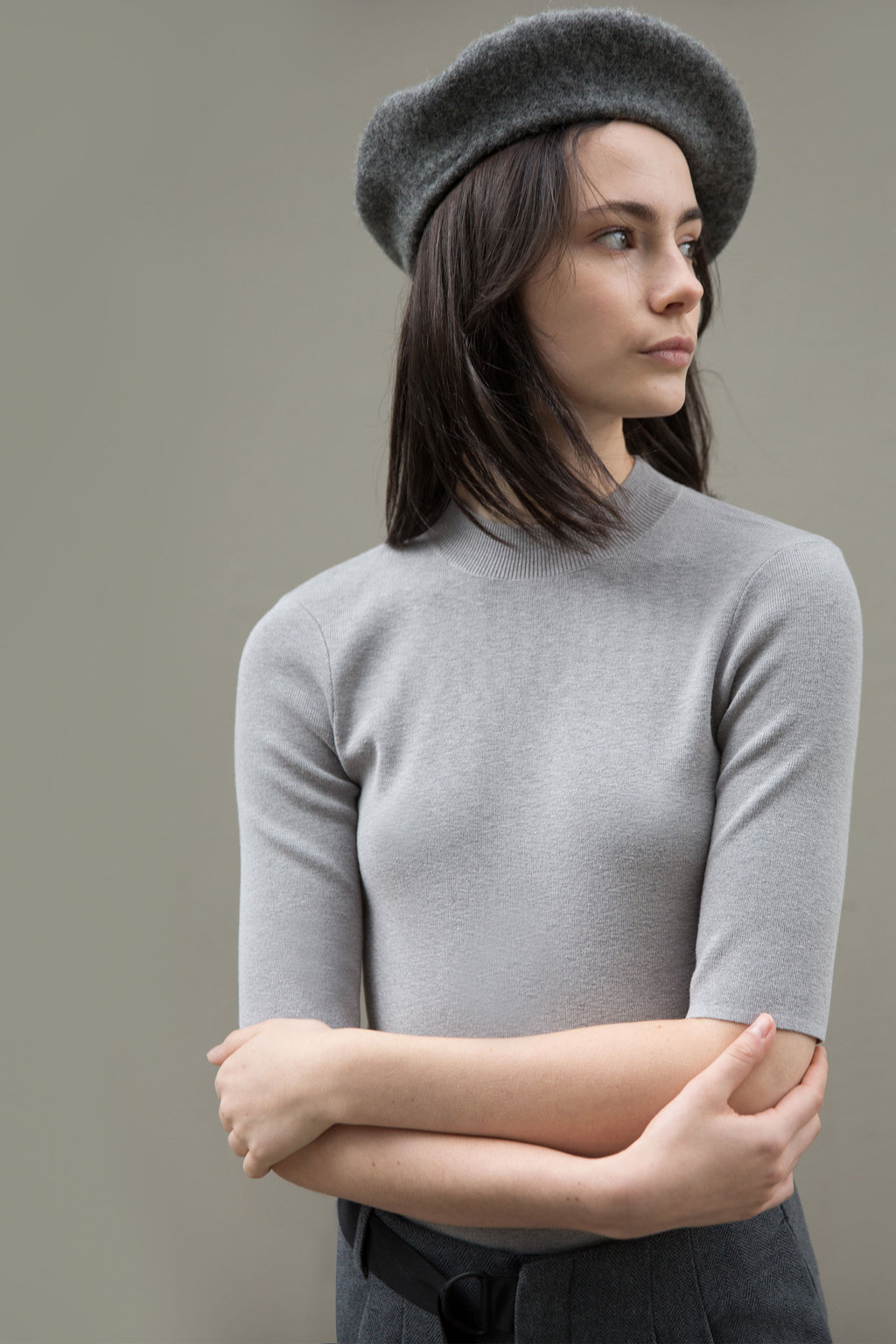 Sweater 24992018 Heather Light Gray 1