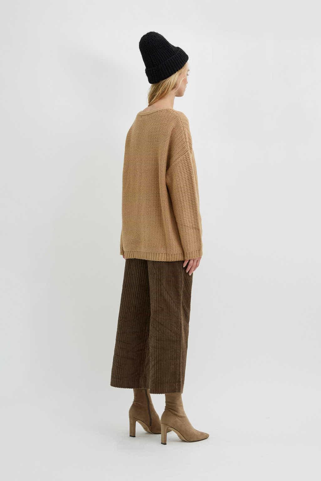 Sweater 2596 Camel 5