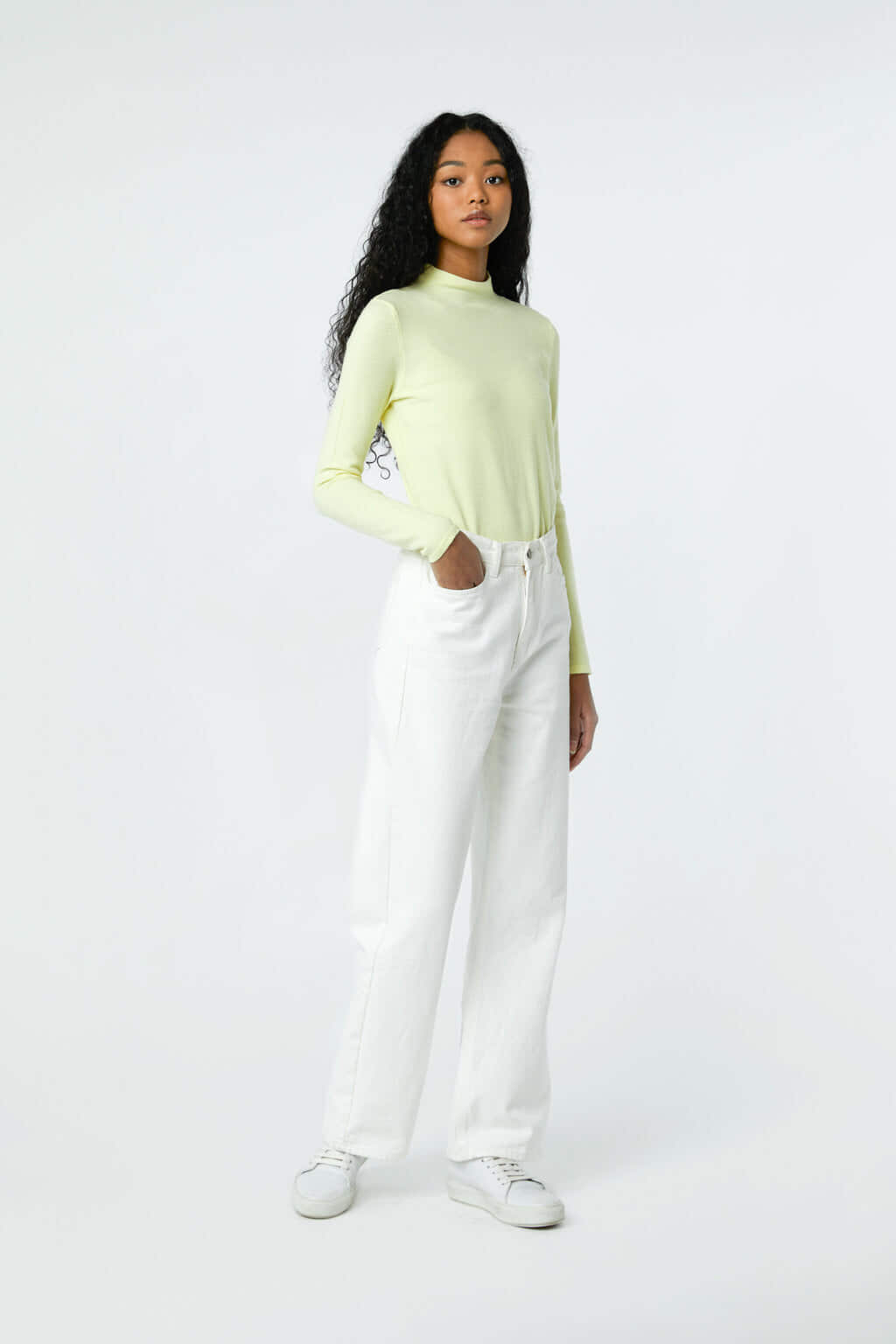 Sweater 2871 Yellow 1