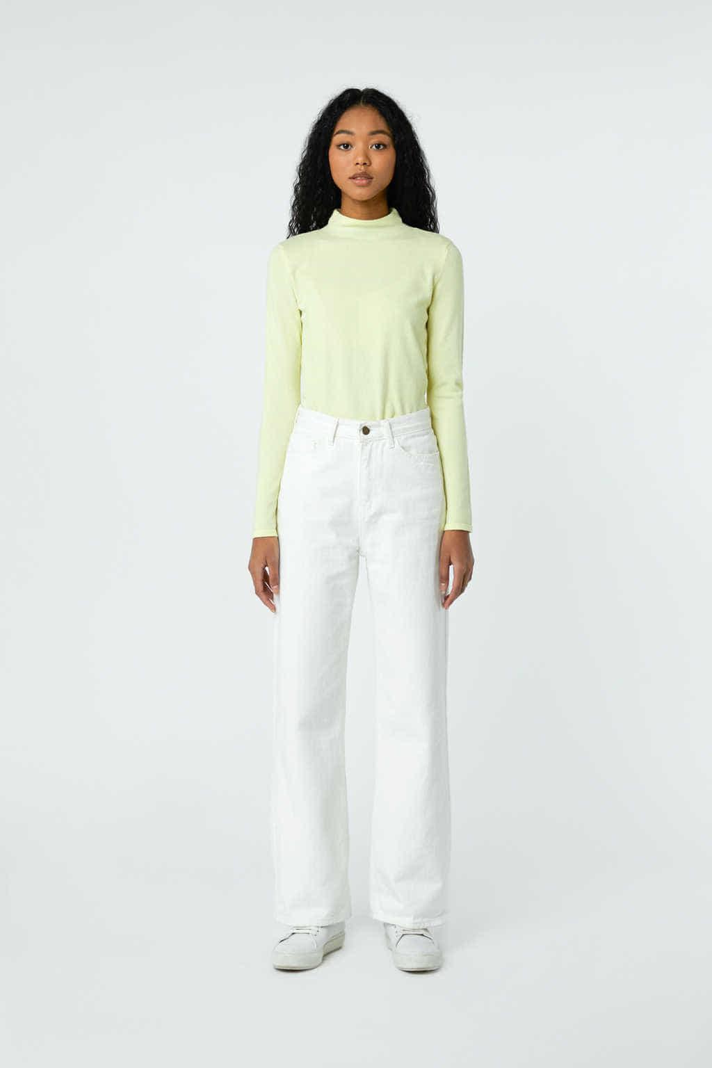Sweater 2871 Yellow 3