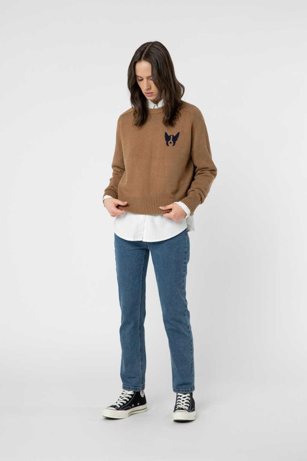 Sweater 2889 Camel 1