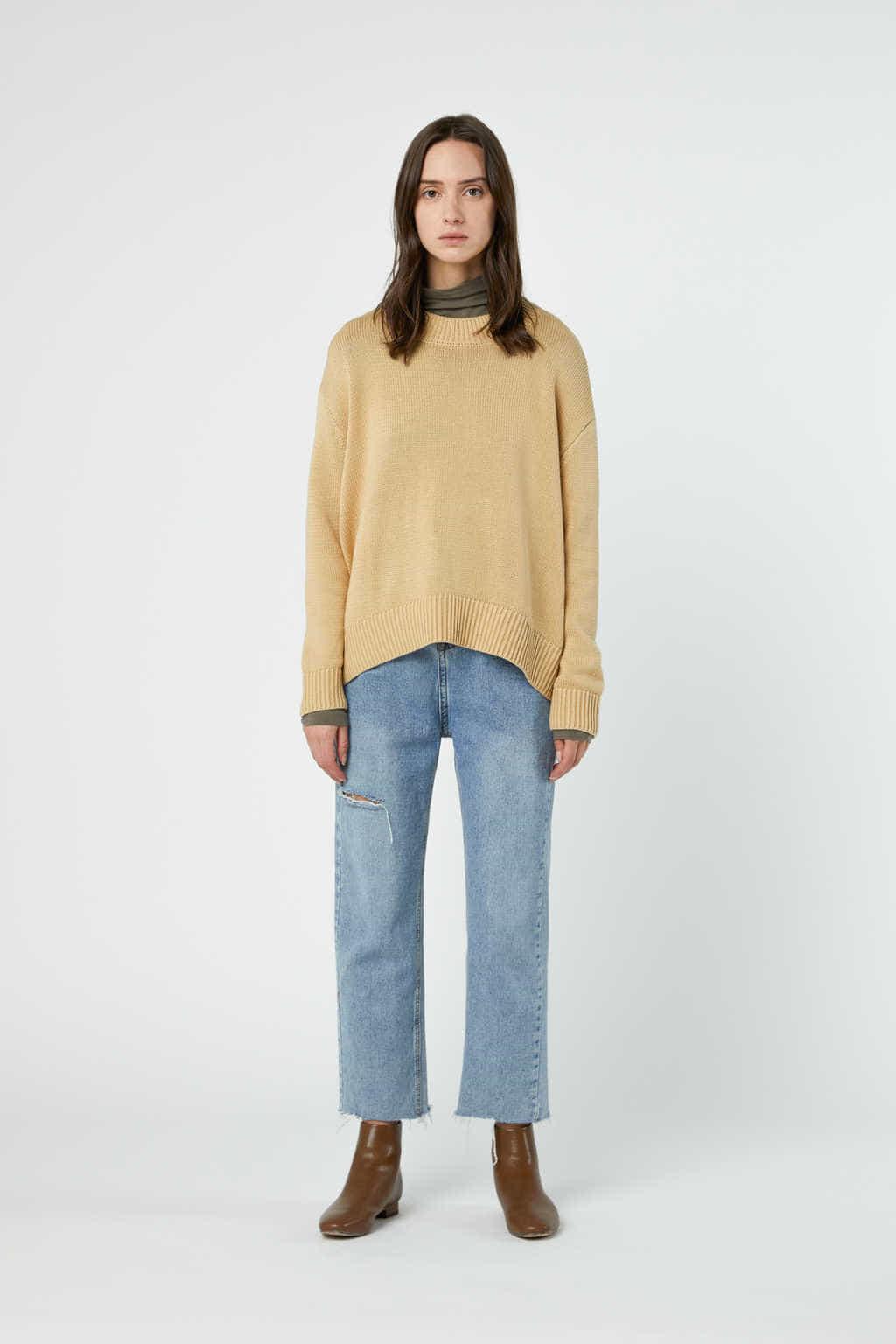 Sweater 3322 Cream 2