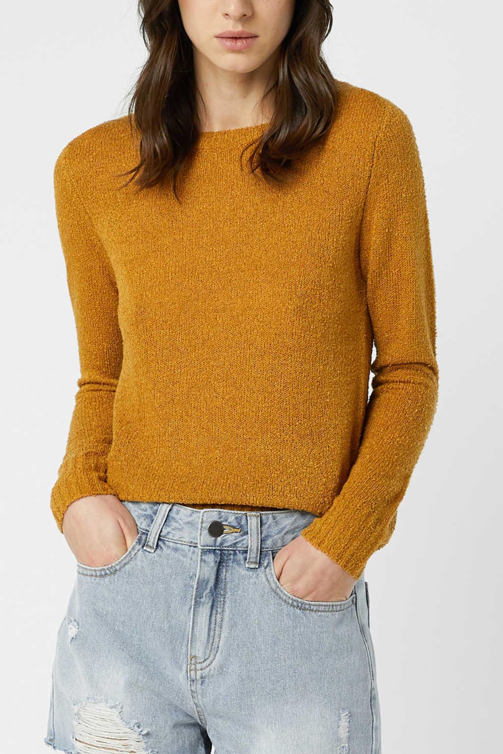 Sweater 3376 Mustard 1