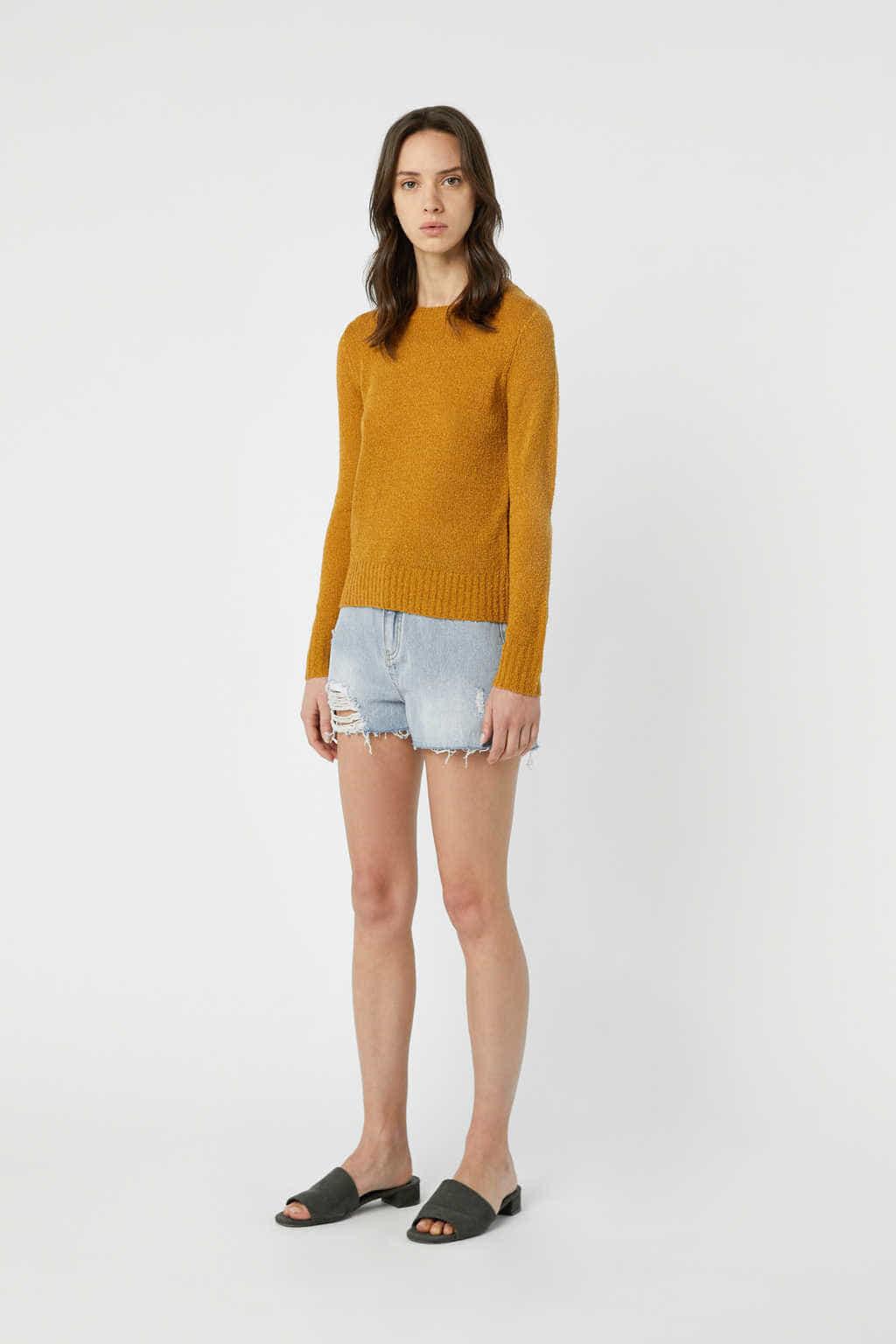 Sweater 3376 Mustard 3