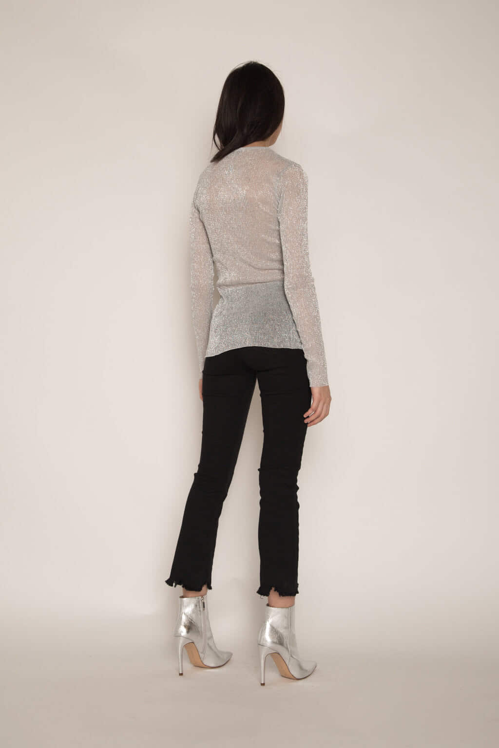Sweater H177 Silver 4