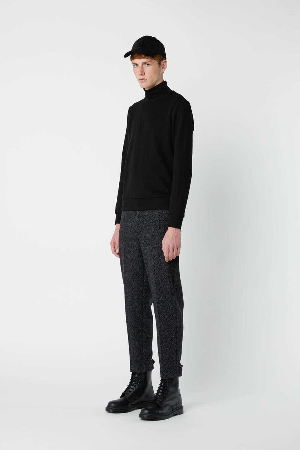 Sweatshirt 2667 Black 9