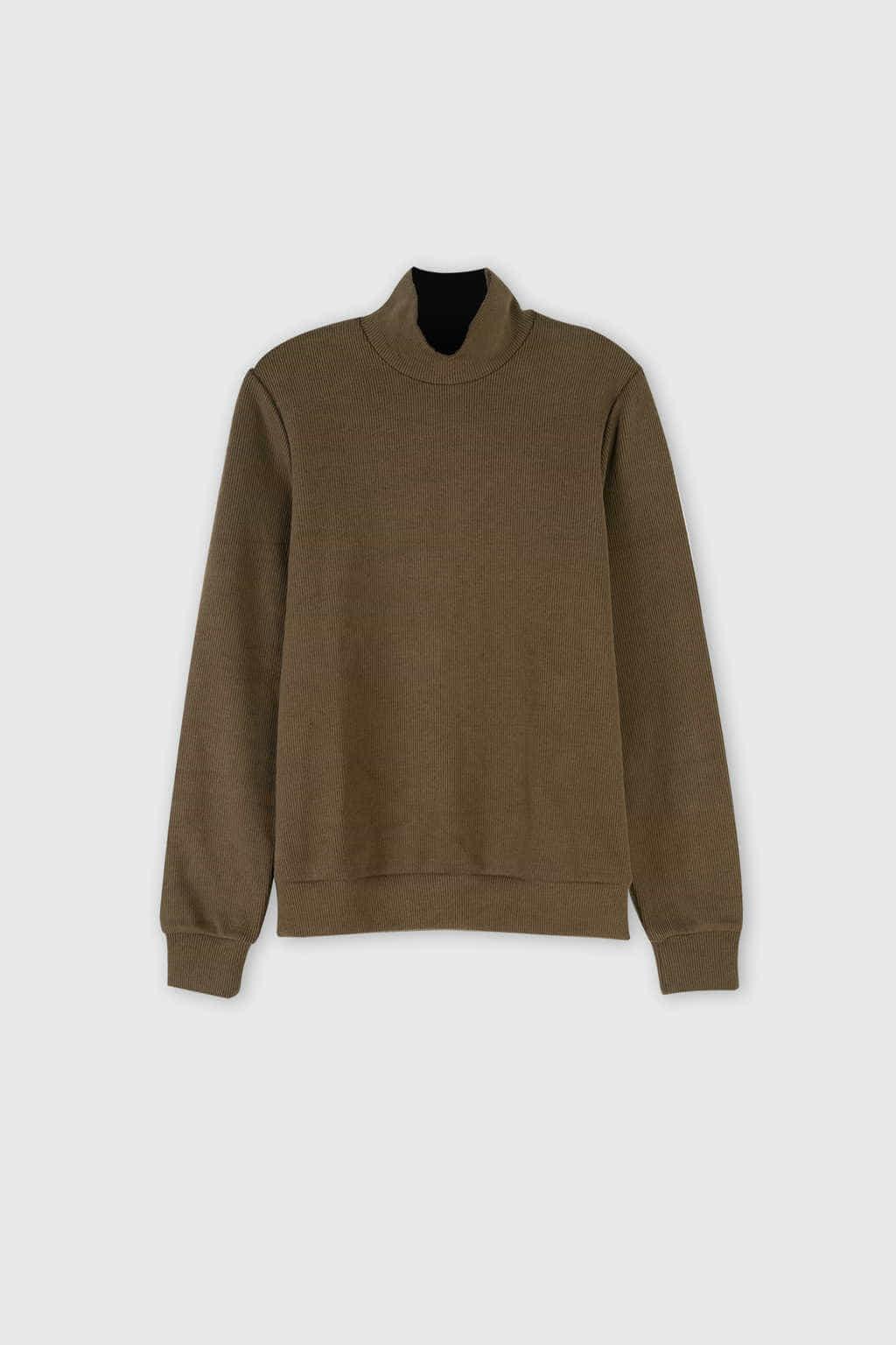 Sweatshirt 2667 Olive 1
