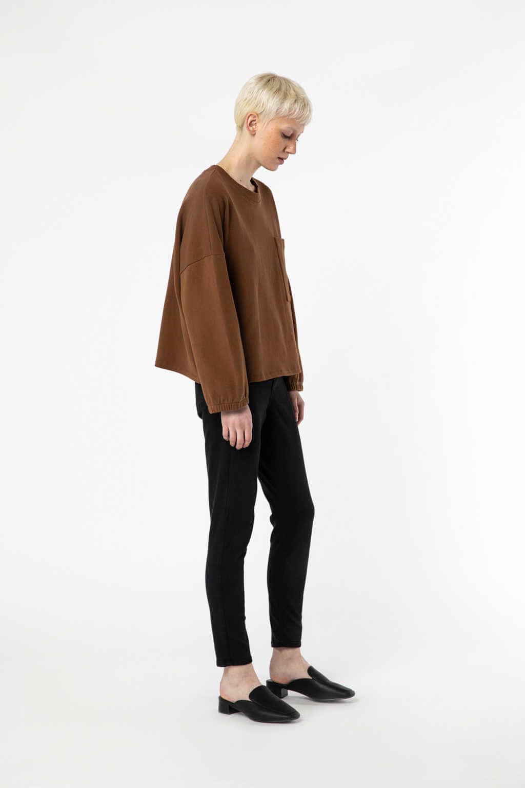 Sweatshirt 2968 Camel 2