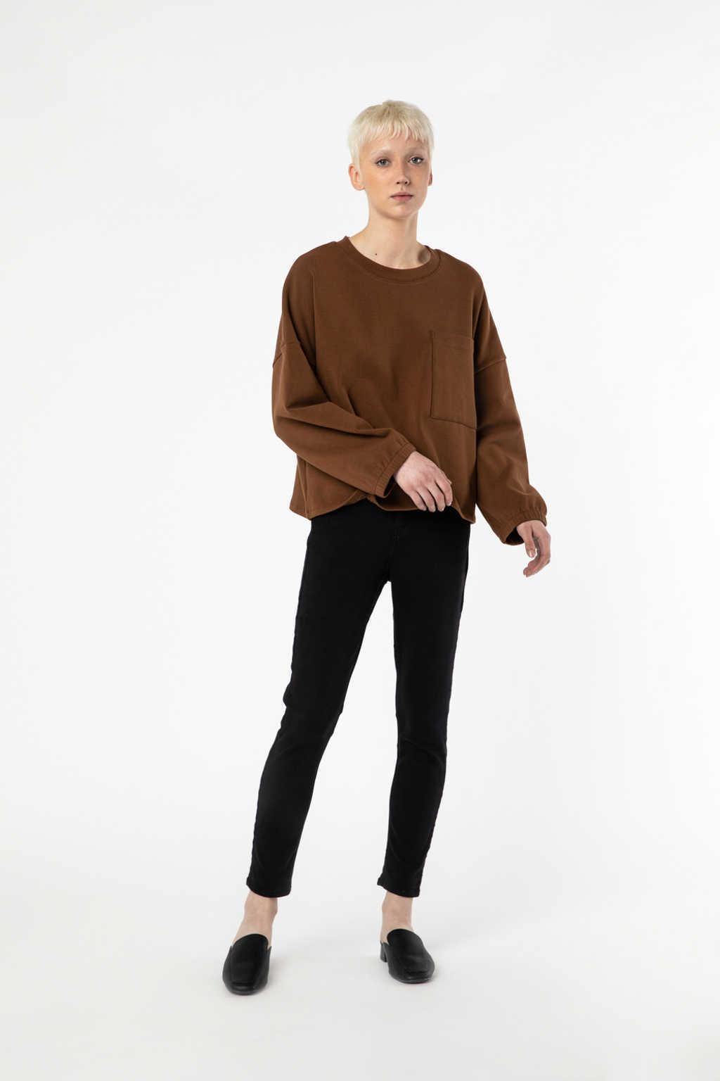 Sweatshirt 2968 Camel 3