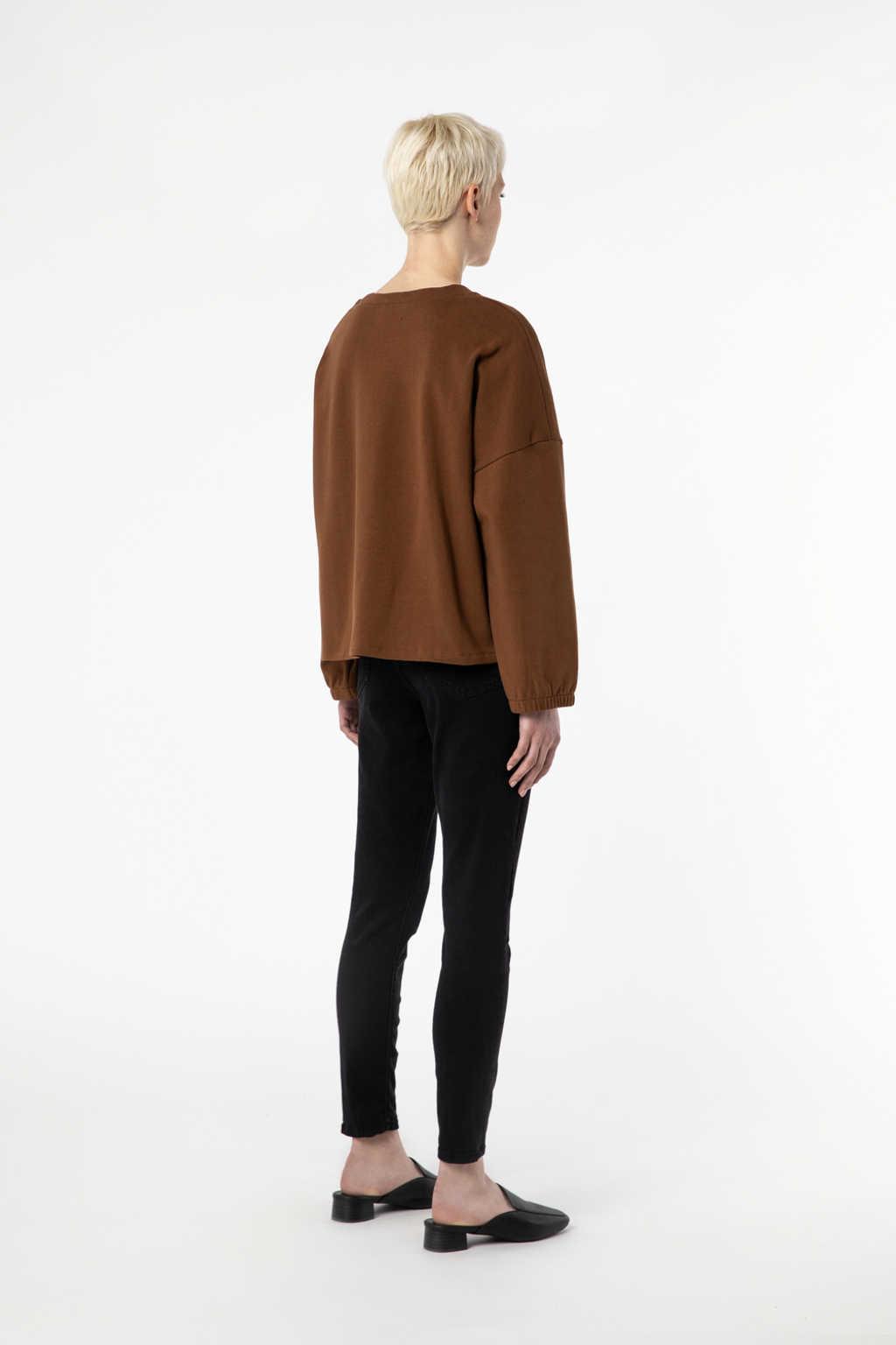 Sweatshirt 2968 Camel 4