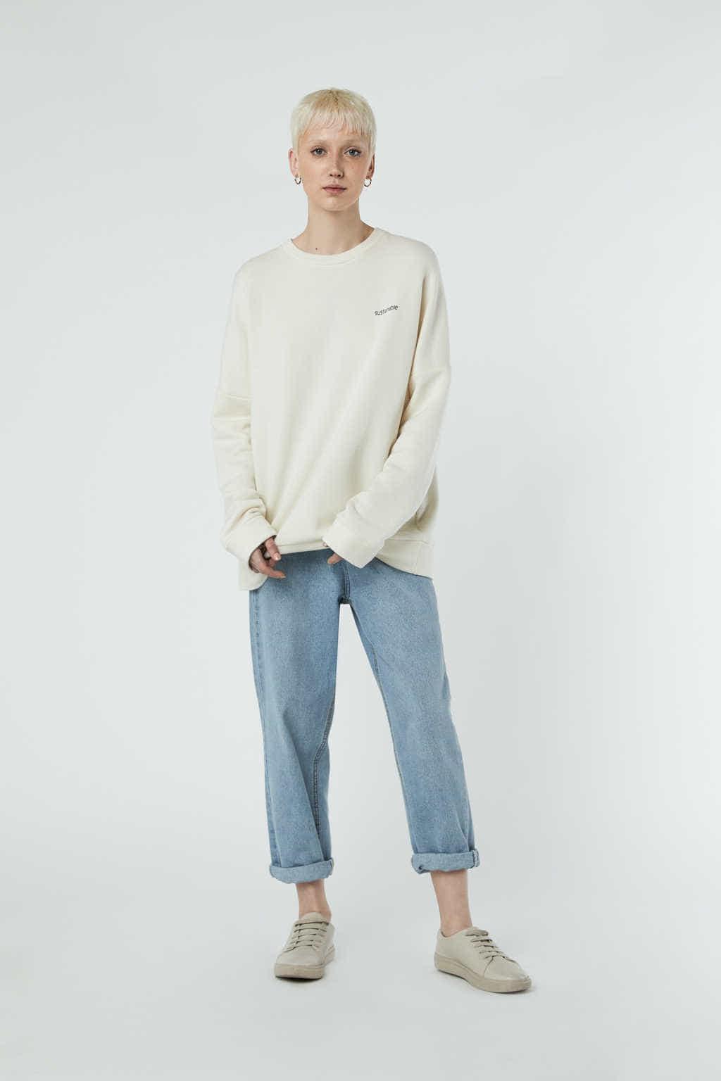 Sweatshirt 3302 Cream 3
