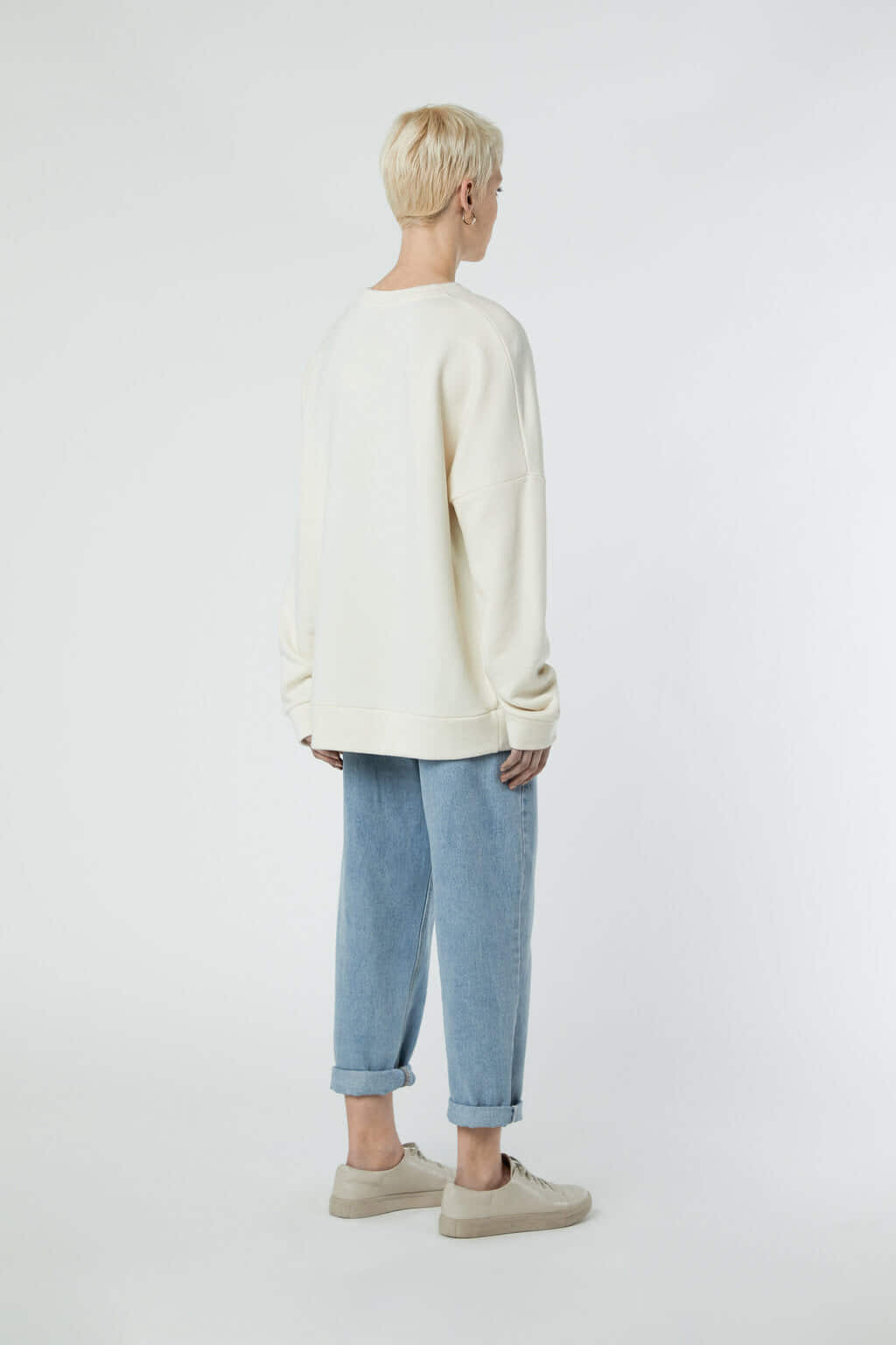 Sweatshirt 3302 Cream 5