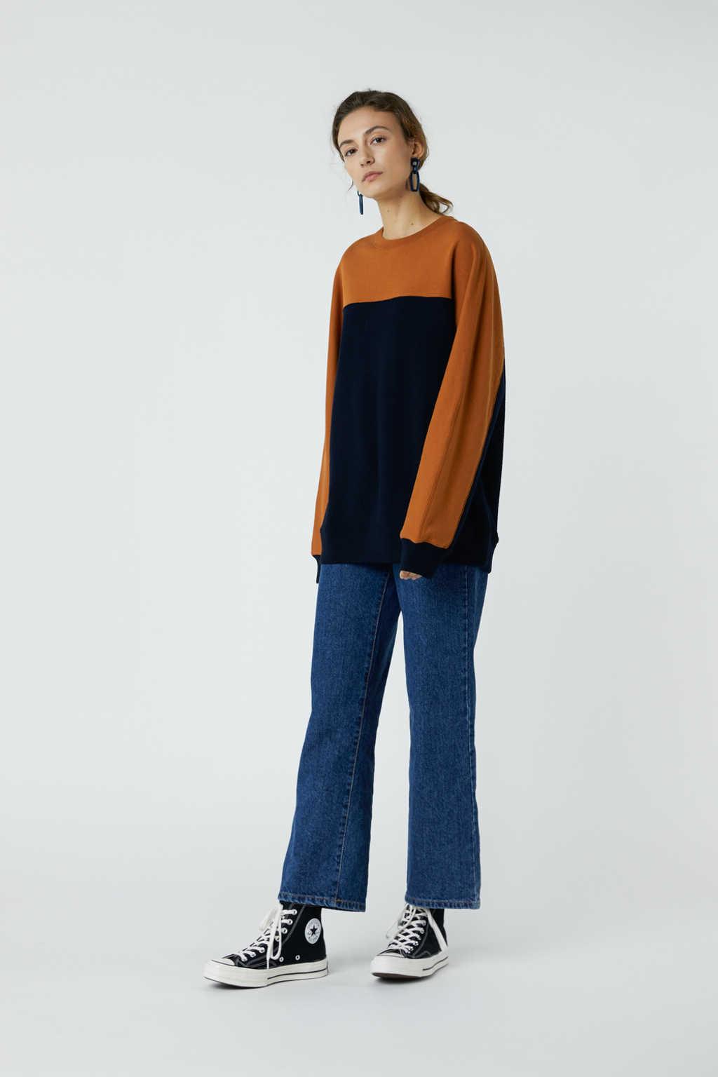 Sweatshirt 3314 Navy 1