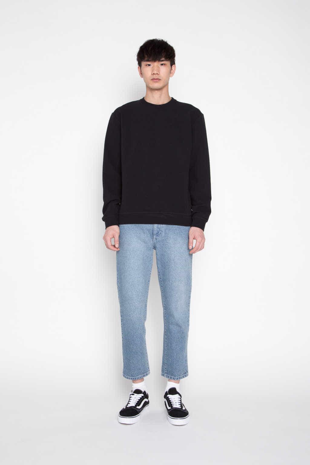 Sweatshirt 545 Black 1