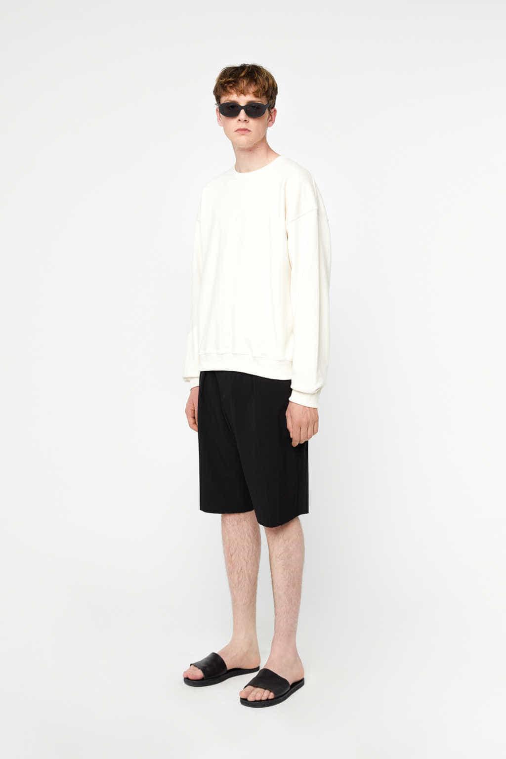 Sweatshirt K012 Cream 2