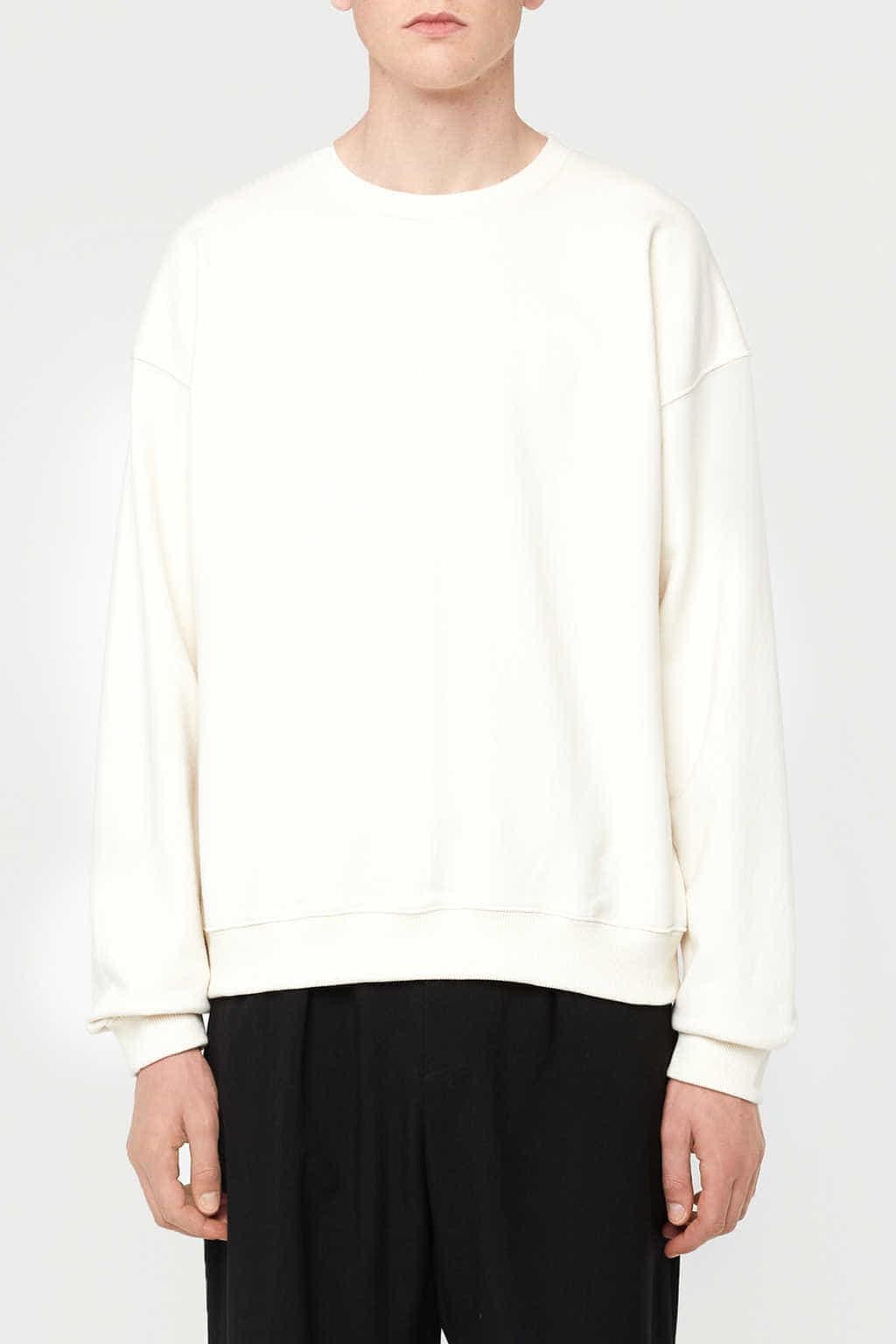 Sweatshirt K012 Cream 3