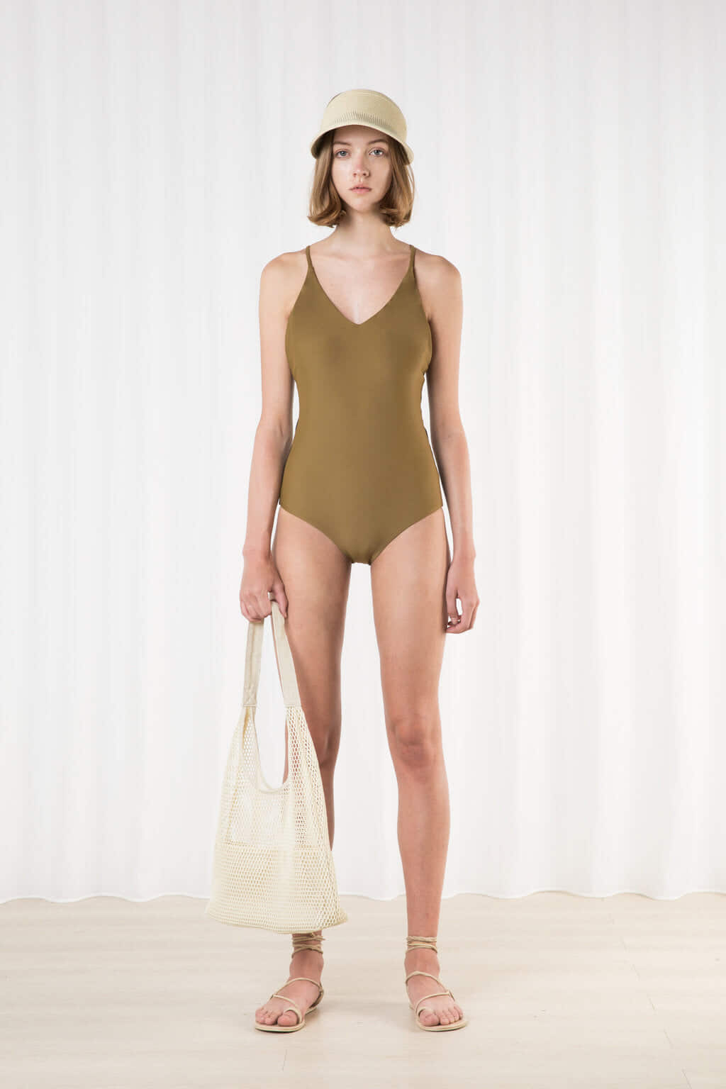 Swimsuit 2202 Olive 2