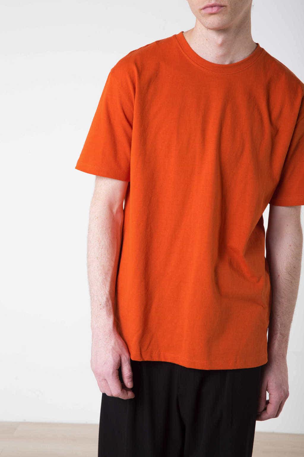 TShirt H134 Orange 2