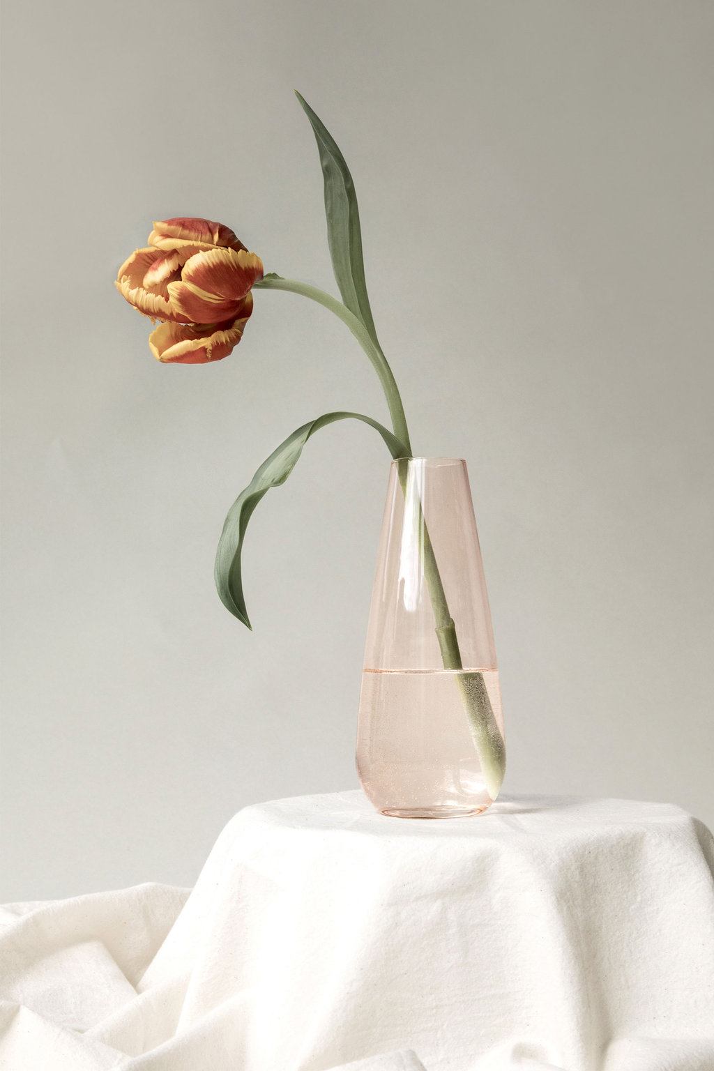 Tear Drop Vase 3373 Rose 5