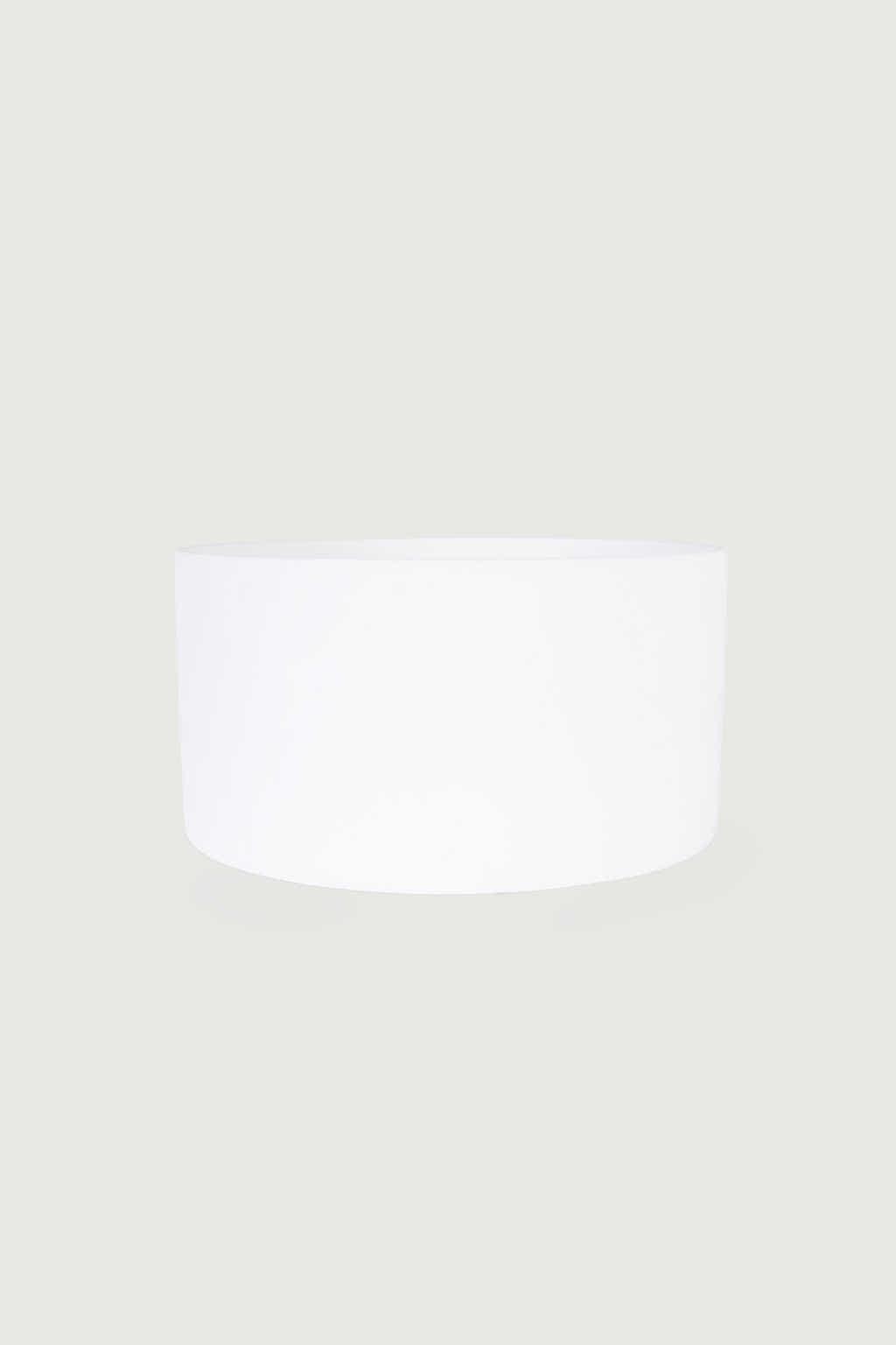Wide Ceramic Planter 2947 White 3