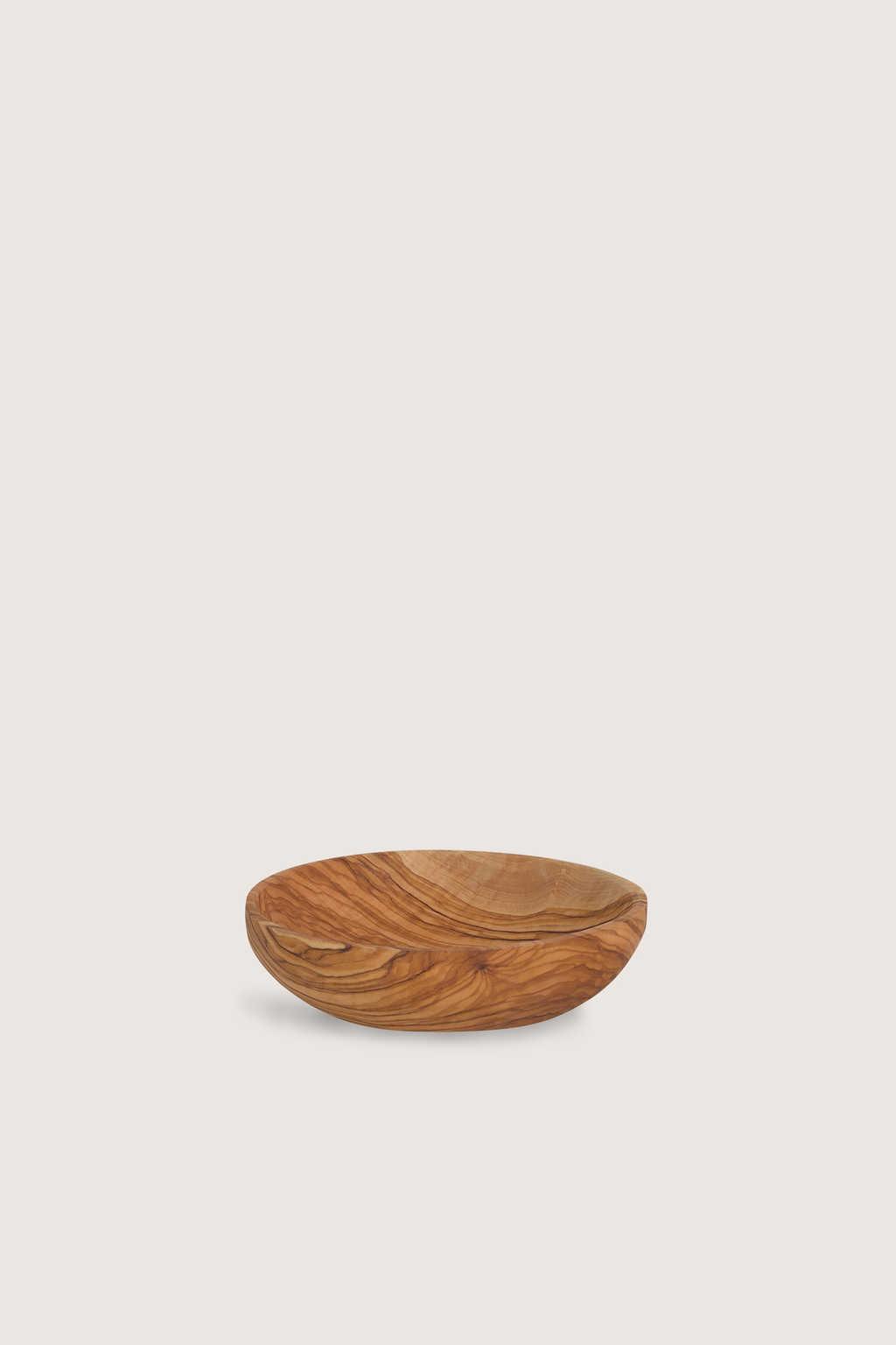 Wood Bowl 2428 Brown 2