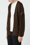 Cardigan 2662 Brown 1