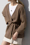 Cardigan 2956 Brown 7