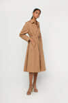 Coat Dress 4072 Khaki 1
