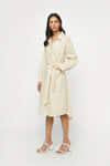 Coat Dress 4073 Light Beige 1