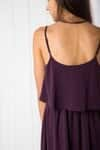 Dress 2173 Dark Purple 3