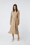 Dress 2958 Taupe 1