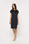 Dress 3229 Navy Stripe 1