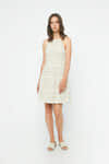 Dress 3663 Beige 1