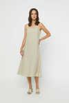 Dress K030 Beige 1