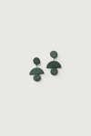 Earring K001 Green 3