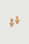 Earring K001 Orange 6