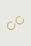Earring K002 Mustard 4