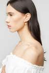 Earring K007 Gold 1